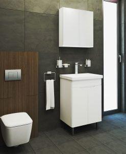 VISOTA PVC Шкаф за баня комплект Нели 60