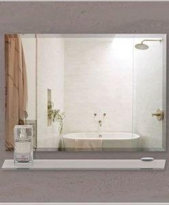 Огледало за баня с фасет ЛИВОРНО  65*45
