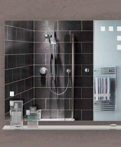 Огледало за баня с кант БАРИ 85*65