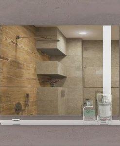 Огледало за баня с кант БЕРГАМО 75*55