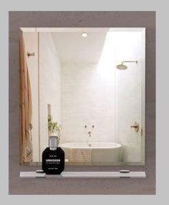 Огледало за баня с кант БРЕША 65*65