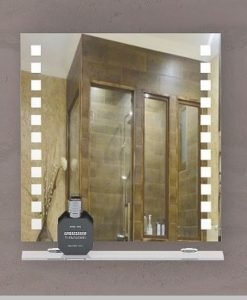 Огледало за баня с кант ГЕНУА 60*60