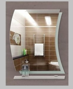 Огледало за баня с кант ПИЗА 65*80