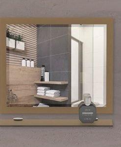Огледало за баня с кант СИРАКУЗА 60*50
