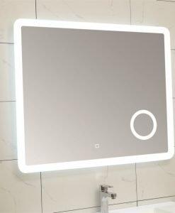Огледало за баня с вградено LED осветление 1806 100*80