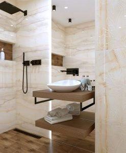 Плочки за баня OPAL LILIUM 60*120 KUTAHYA SERAMIK