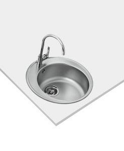 Иноксова мивка за вграждане,микролен STARBRIGHT 45 E-XM 1B ORB