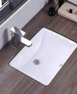 Порцеланова мивка за вграждане под плот SILVESTRA 46*33