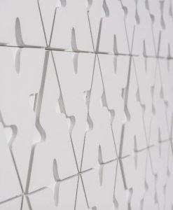 Декоративен камък за вътрешна употреба INCANA ELEMENTS BIANCO 42.5×22.5