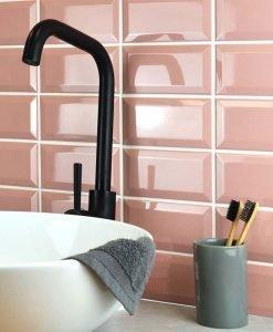 Плочки за баня и кухня Golden Tile Metro Pink 10*20
