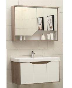 PVC шкаф за баня HYDRA 9155 & 9015 90см