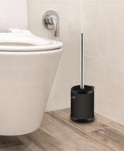 Четка за тоалетна чиния 7287B черен мат