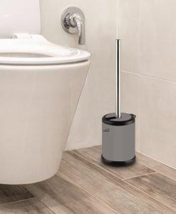 Четка за тоалетна чиния 7287G сив мат