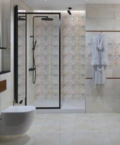 Плочки за баня ECOCERAMIC модел MIRAGE WARM 25*70