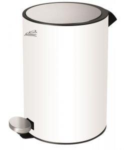 Тоалетно кошче 5л 7072W бял мат