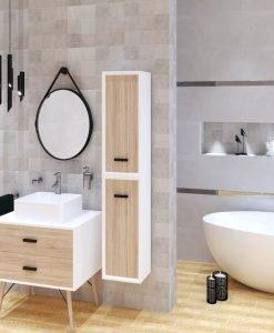 Плочки за баня ECOCERAMIC модел OYSTER 33.3*100