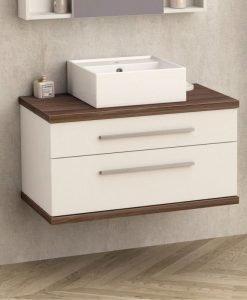 Шкаф за баня без умивалник АРИЯ 80 8144-2