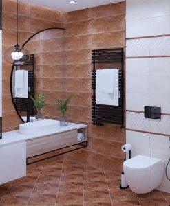 Плочки за баня ECOCERAMIK ECLECTIC OXIDO 25*70 MAT
