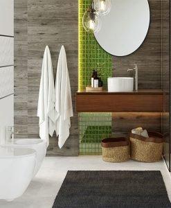 Плочки за баня серия WHITE MAT / PARMA 25*75